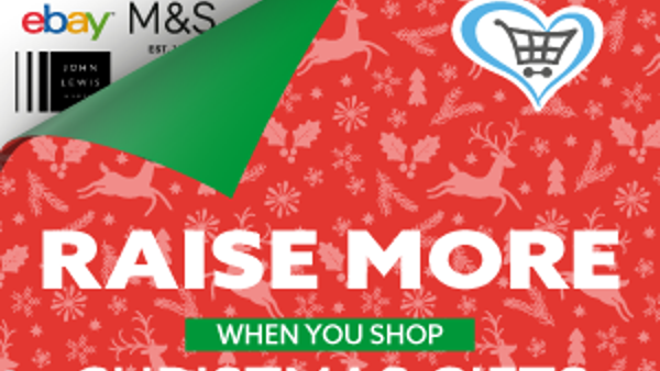 Give as you live Christmas shopping appeal